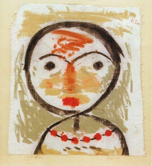 afbeelding Paul Klee vraagt zich af 1934